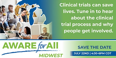 AWARE for All - Midwest Virtual Health Event 2021 tickets