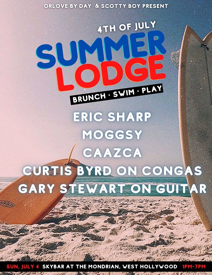 Summer Lodge: 4th of July POOL PARTY & BBQ image