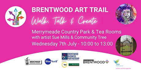 Brentwood Art Trail - Walk, Talk & Create at Merrymeade Country Park tickets