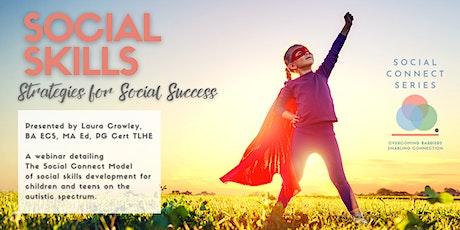 Social Skills: Strategies for Social Success tickets