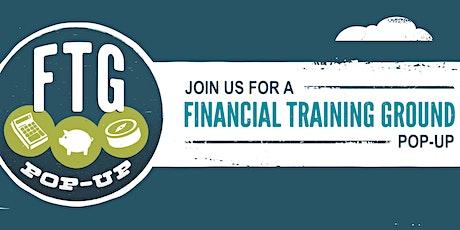 Financial Training Ground Pop-Up Identity Theft tickets