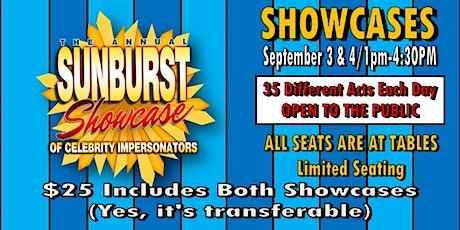 The Sunburst Convention of Celebrity Impersonators Showcase tickets