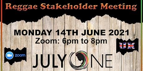 BBM IRD UK Reggae Stakeholder Meeting 10 tickets