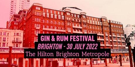 The Gin & Rum Festival - Brighton - 2022 tickets