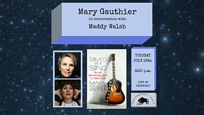 Mary Gauthier in Conversation with Maddy Walsh tickets