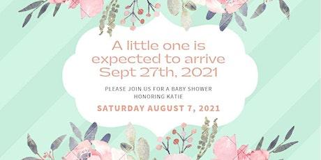 Katie's Baby Shower tickets