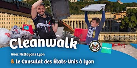 Cleanwalk à lyon - coup de balais sur les déchets du pont Tassigny ! billets