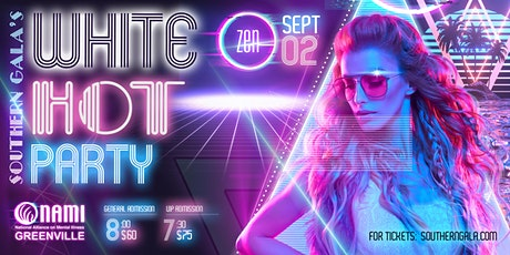 White Hot Party to benefit NAMI Greenville: NEON CLASSIC tickets