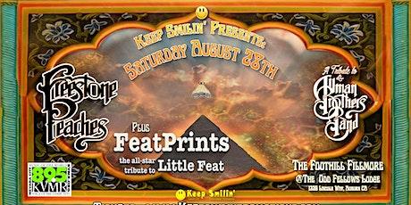 Postponed Again :( RESCHEDULED   Freestone Peaches & FeatPrints! tickets