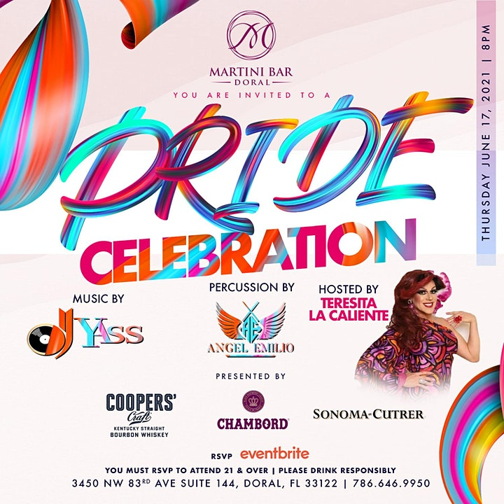 Pride Celebration at Martini Bar Doral image