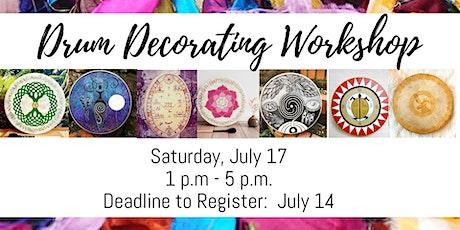 Drum Decorating Workshop tickets
