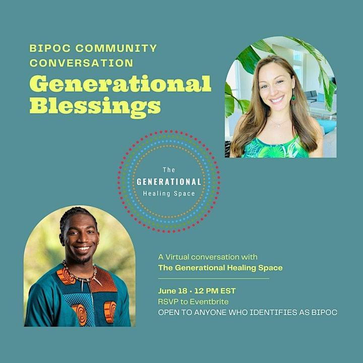 Healing Conversations: Generational Blessings image