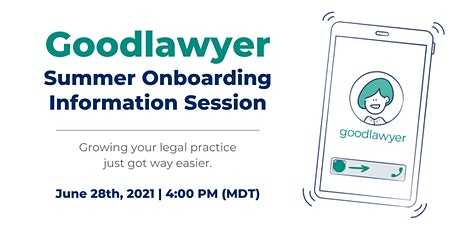 Goodlawyer: Summer Onboarding Information Session Tickets