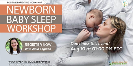 Newborn Baby Sleep Workshop tickets