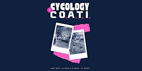 Cycology Studio x C.O.A.T.I tickets