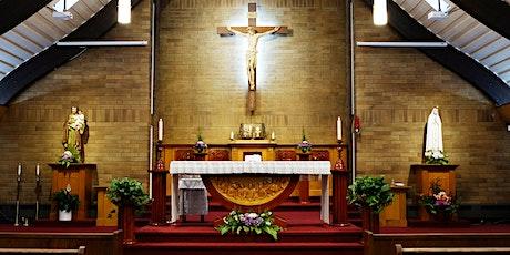 Weekend Mass at The Church Basement-Tham dự Thánh Lễ tại Hội Trường Giáo Xứ tickets