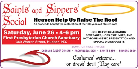 Saints and Sinners Social tickets