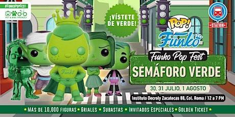 FUNKO POP FEST SEMÁFORO VERDE entradas