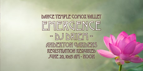 DANCE TEMPLE :: EMERGENCE tickets