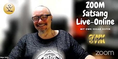 Zoom-Online-Satsang mit OWK Edgar Hofer Tickets