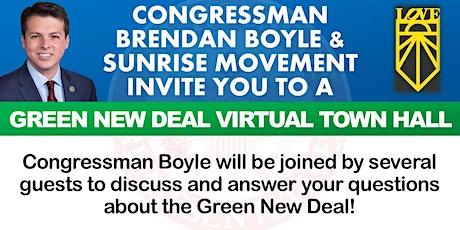 Green New Deal Virtual Town Hall w/ Congressman Brendan Boyle tickets