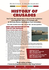 ONLINE TALK The early Crusades viewed from Islamic perspectives (1099-1174) tickets