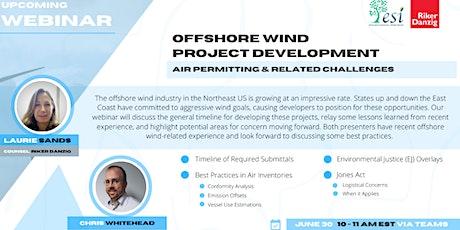 Webinar: Offshore Wind Project Development tickets