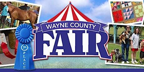 2021 Wayne County Fair Vendor Application tickets