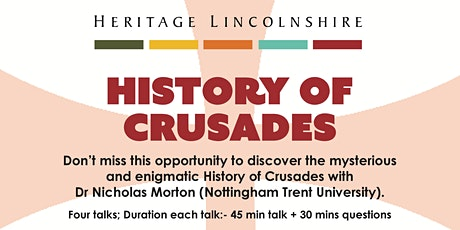 ONLINE TALK Daily life in the Crusader States tickets
