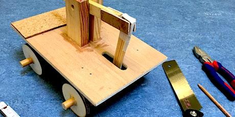 Holzbauwerkstatt: Da(s) ist der Hammer! - Kreative Ferienwoche Tickets