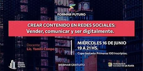 Crear contenido en redes sociales: Vender, comunicar y ser digitalmente. biglietti