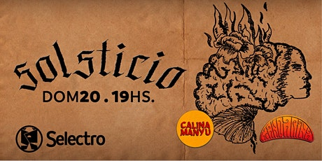 SOLSTICIO - MANDARINA Y CALINA MANYU entradas