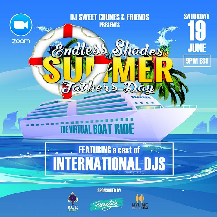 Endless Shades of Summer - The Virtual Boat Ride on Zoom image