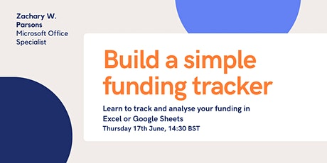 Build a simple funding tracker (with basic Excel functions) tickets