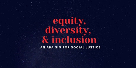 Equity, Diversity, & Inclusion - Virtual Conference tickets