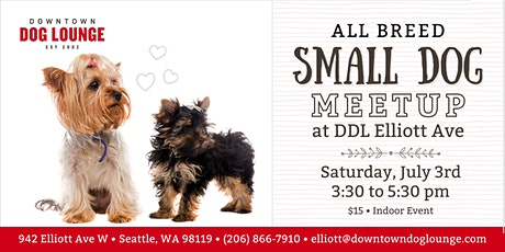 Small Dog Meetup at DDL Elliott tickets