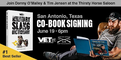 VET Tv & Grunt Style Book Signing w/ Donny O'Malley and 1st Sgt Tim Jensen tickets