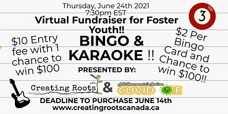 Bingo and Karaoke! - Help Foster Youth! Tickets