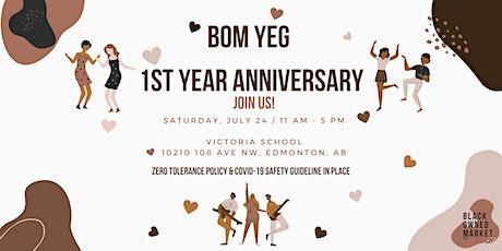Black-Owned Market (BOM) Edmonton (YEG) - 1st Year Anniversary! tickets