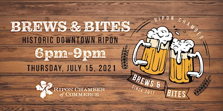 Brews and Bites tickets