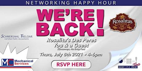 Client Appreciation Happy Hour - July 2021 tickets