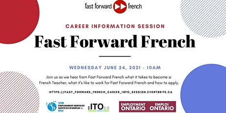 Fast Forward French - Career Information Session - June 24th tickets