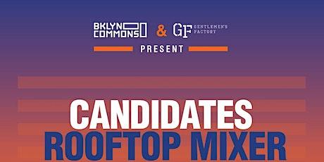 Candidates Rooftop Mixer - BKLYN Commons x Gentleman Factory tickets