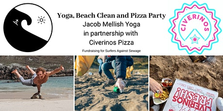 Yoga, Beach Clean and Pizza Party tickets