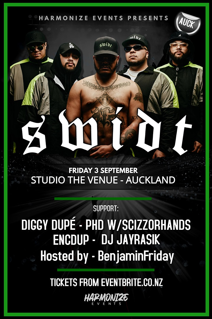 SWIDT - LIVE IN AUCKLAND! image