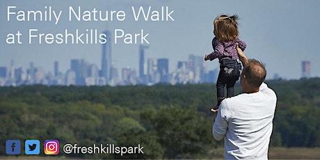 Family Nature Walk tickets