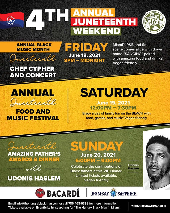 Hungry Black Man Annual Juneteenth Food & Music image