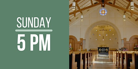 Sunday Mass 5:00 pm (outdoor, drive-in) tickets