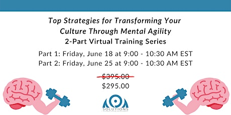 Top Strategies for Transforming Your Culture Through Mental Agility tickets