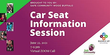 Child Passenger Safety Information Session tickets